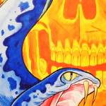 """Ssssskull"" by DavefnSchultz"