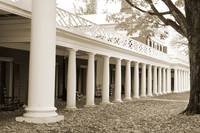 Pavilions on The Lawn, University of Virginia
