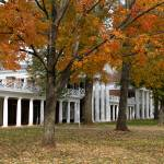 """The Lawn During Fall, University of Virginia"" by fineartphoto"