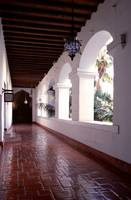 Santa Barbara County Courthouse Hallway