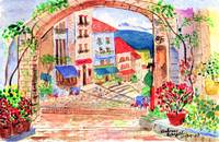 Tuscan archway II