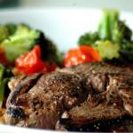 """""""Grilled Lamb with Tomato Quinoa and Veggies"""" by kaishin"""