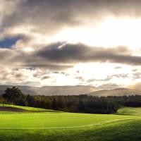 18th Green at Le Portage Golf Course Art Prints & Posters by Chris Gallow