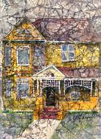 Yellow Batik House