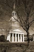 Wait Chapel & Tree, Wake Forest University