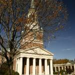 """Wait Chapel & The Quad, Wake Forest University"" by fineartphoto"