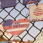"""Land of the Free, 9/11 Tribute, NYC"" by fineartphoto"