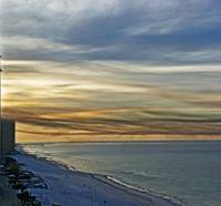 November Sky At Panama City Beach, Florida