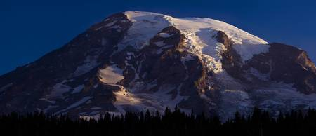 Mt. Rainier South Face Sunrise