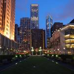 """""""Downtown Chicago at night"""" by nicelysighted"""