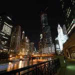 """Downtown Chicago at night"" by nicelysighted"