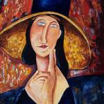 """Modigliani Tribute"" by maryclaire"