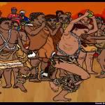 """""""TribalreunionKwanzaaseriesontheone"""" by Briggs"""