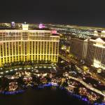 """Bellagio hotel from the eiffel tower"" by clarka"