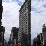 """Flat Iron building splash of colour"" by clarka"