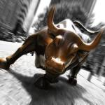 """wall street bull"" by clarka"