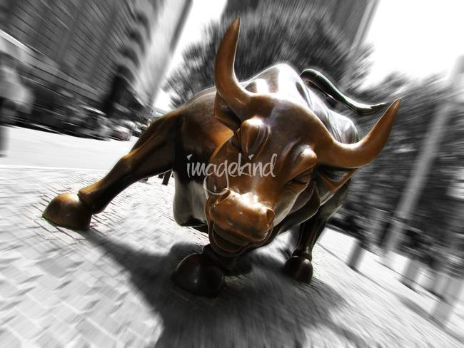 Wall Street Bull Art wall street bullandrew clark