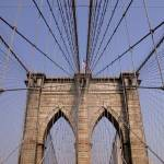 """Top of The Brooklyn Bridge, NYC"" by fineartphoto"