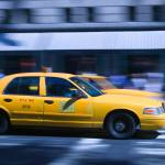 """New York City Taxi In Motion"" by fineartphoto"