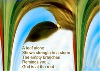 God is at the root