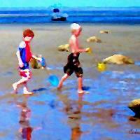 Tide Flats Art Prints & Posters by MCARTZ