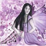 """violet gothic faery"" by FaerieMajikk"