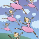 """Beautiful Ballerinas"" by karynlewis"