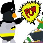 """BatPeng Vs The PengDuck"" by Dave1205"