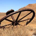 """""""An old industrial wheel"""" by SueLeonard"""