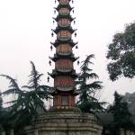 """Thousand Buddha Peace Pagoda - Chengdu, China"" by jme"