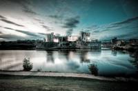 Caerphilly Castle - Cold Tone