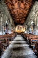 Margam Abbey Aisle