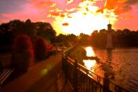 Roath Park Sunset