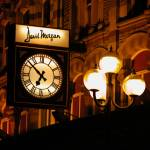 """David Morgan Clock Cardiff"" by ajcronin"