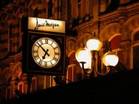David Morgan Clock Cardiff