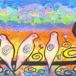 """""""Doves At Sunset"""" by juliryan"""
