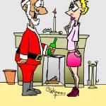 """Naughty Santa"" by GopherGraphics"