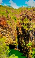 Tolmer Falls During The Dry Season -NT