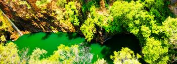 Tolmer Falls - The Green Pool -NT