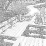 """""""Crooked Bridge (Sketch)"""" by yusaku"""