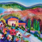 """Tuscan Hillside"" by LindaTillman"