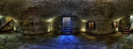 Old Government House , Cellar panorama