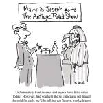 """Mary & Joseph at The Antiques Road Show"" by grahamsale"