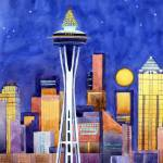 """Space Needle Lights"" by studiobythesound"