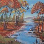 """""""Fall Creek"""" by theartlady"""