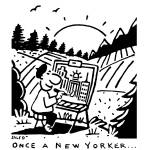 """Once a New Yorker"" by grahamsale"