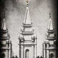 """salt lake city temple"" by danielvineyard"