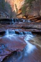 Stone Cascades, Left Fork Creek, Zion National Par