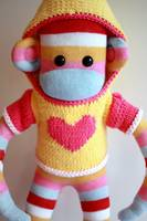Samantha Mars Sock Monkey