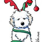"""Christmas Havanese"" by KiniArt"